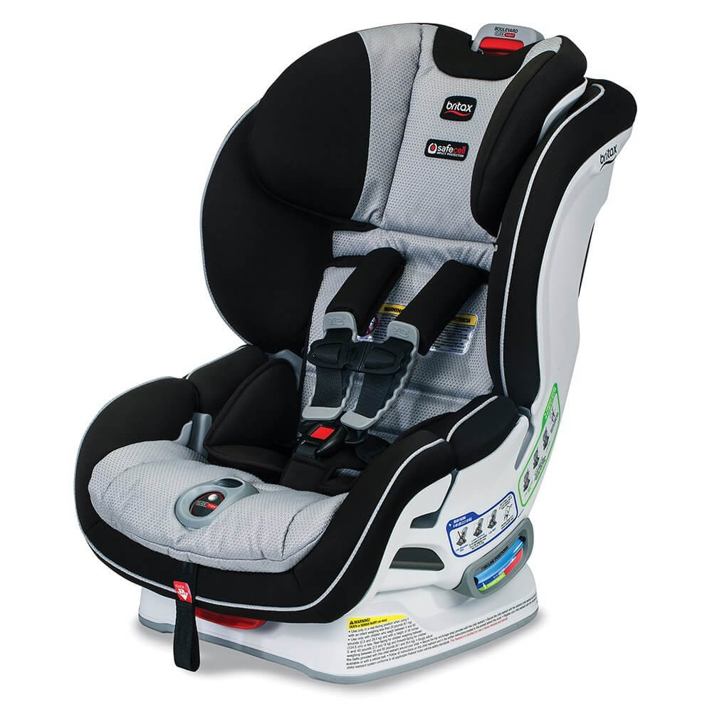 Enjoy Ease Of Installation With The Britax Boulevard Click Convertible Seat On Review