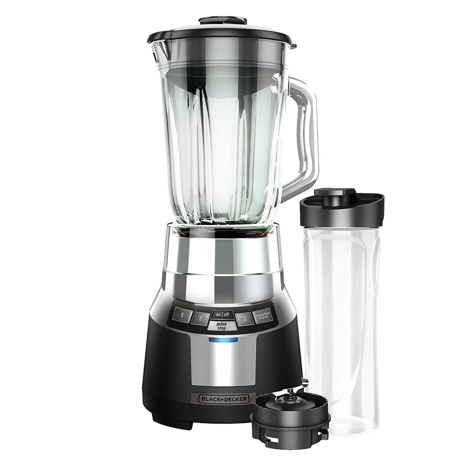 Black and Decker BL 1820SG-P FusionBlade Digital Blender with the Fastest Smoothie System