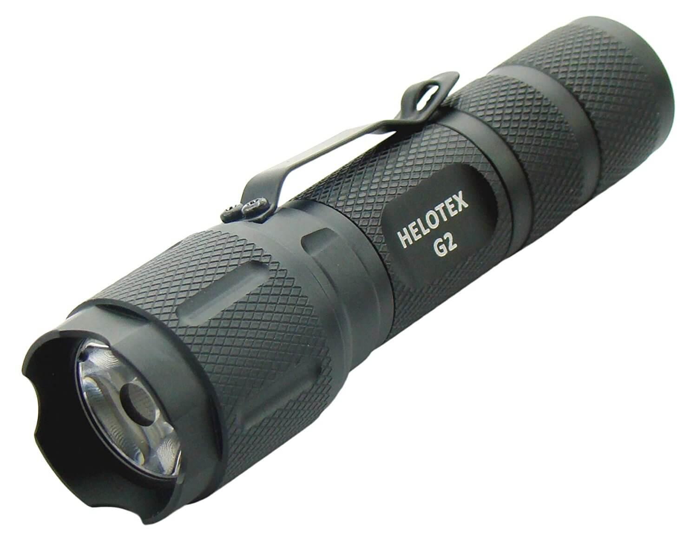 Helotex G2 Tri-mode Cree XR-E LED Tactical Flashlight