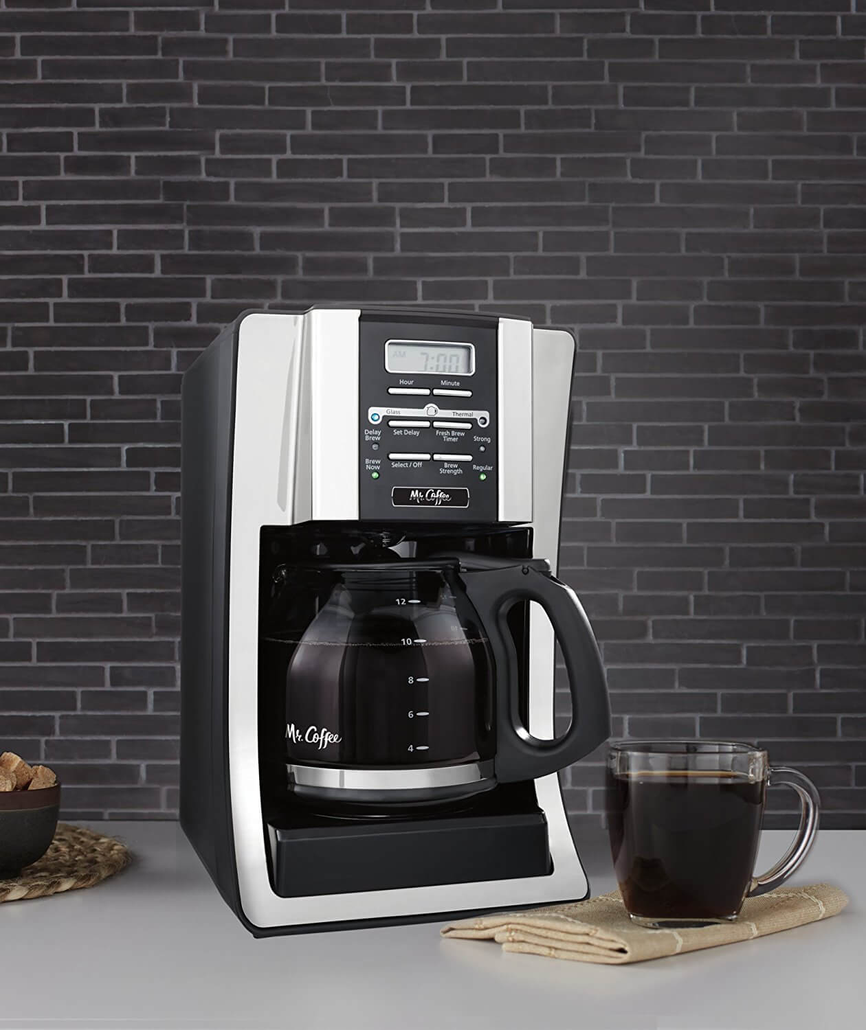 Mr Coffee 12 Cup Programmable Coffee Maker Review On The Review
