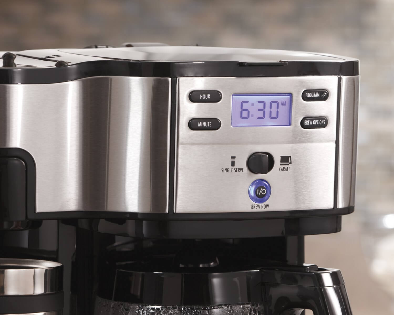 Hamilton Beach 2 Way Single Serve Coffee Maker On The Review