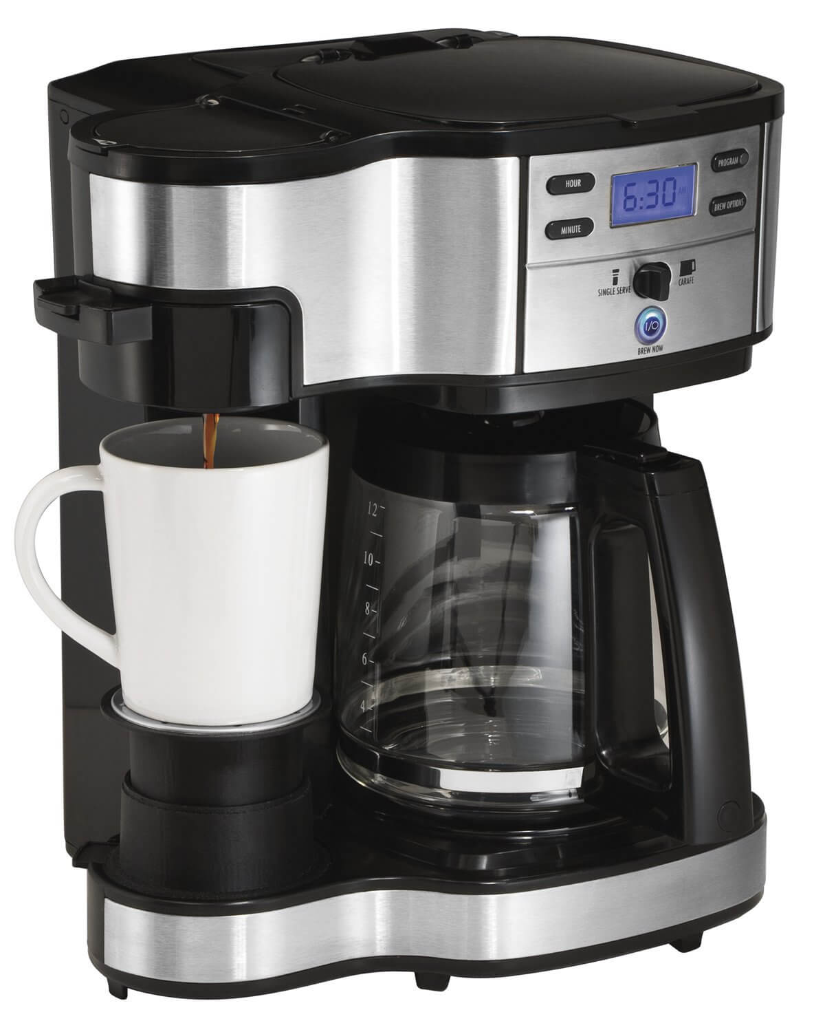 Hamilton Beach 2-Way Single Serve Coffee Maker | On The Review