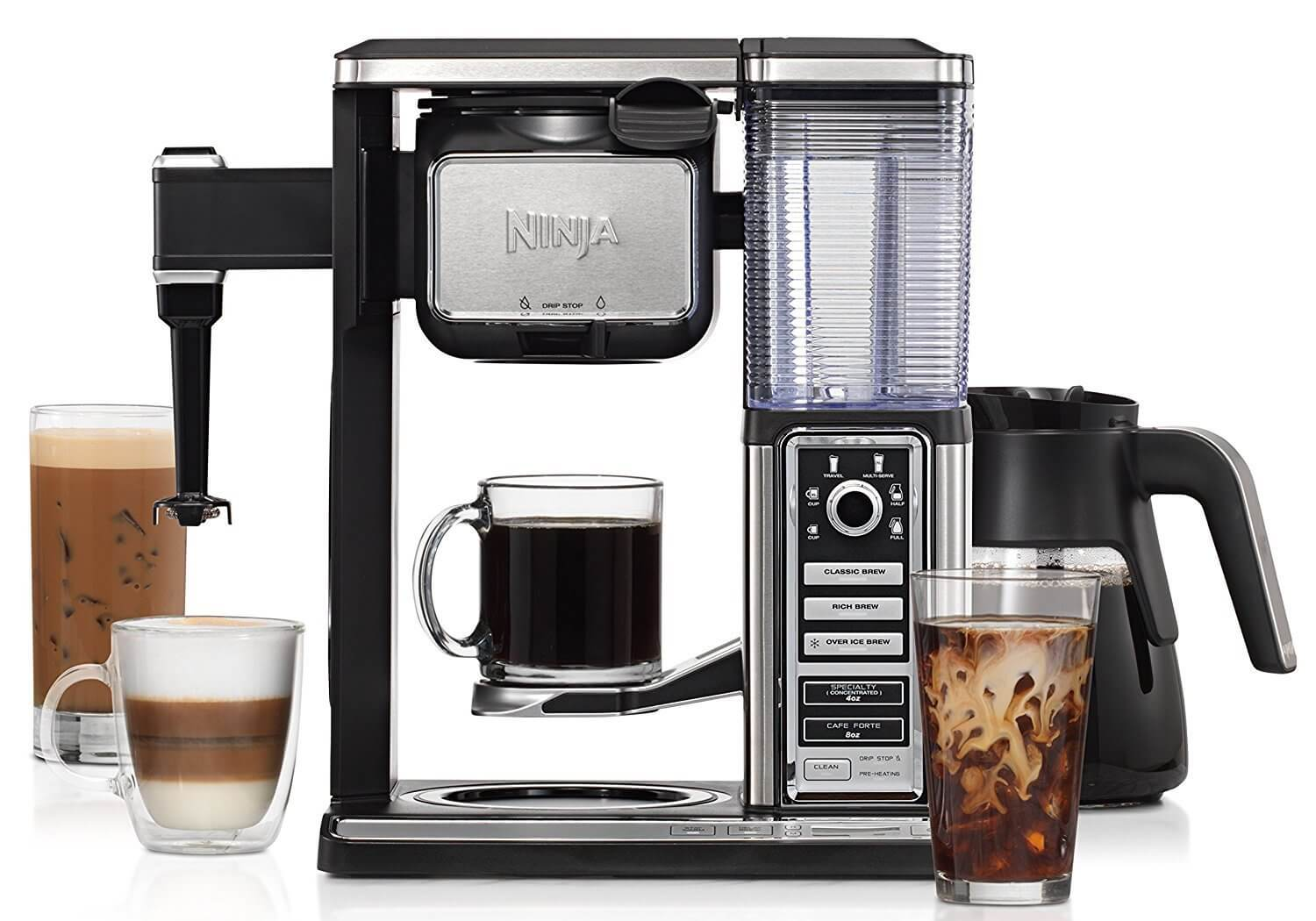 Ninja Coffee Bar Brewer System with Glass Carafe